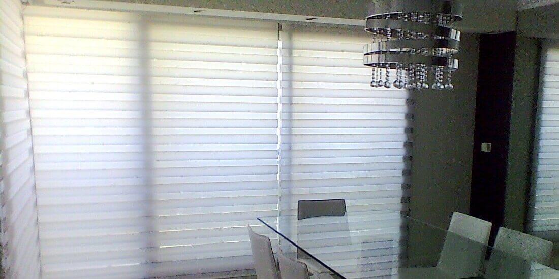 ¿Mejor utilizar cortina o roller?